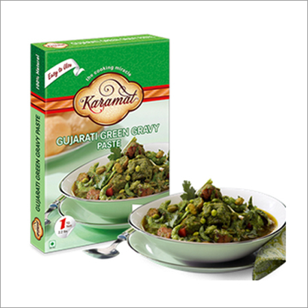 Karamat Gujarati Green Gravy Paste