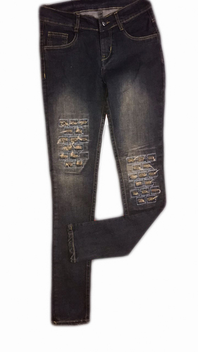Female Rugged Jeans