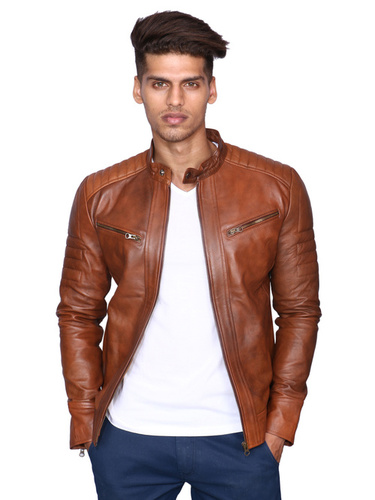 329bf2824 Mens Leather Jackets in Mumbai