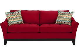 Red Color Designer Home Sofa