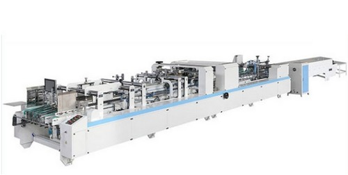 1050AC Automatic Box Pasting Two Folder And Gluer Machine