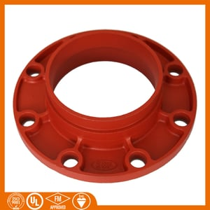 Grooved Pipe Fitting Ductile Iron Grooved Flanges