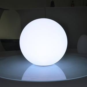 20cm Multi Color Rechargeable Waterproof Plastic LED Ball