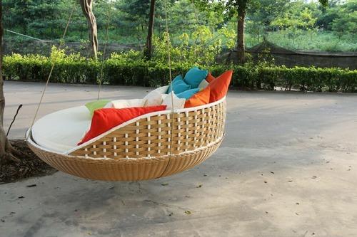 Outdoor Hanging Bed At Best Price In Ghaziabad Uttar Pradesh Rajaa Cane Furniture
