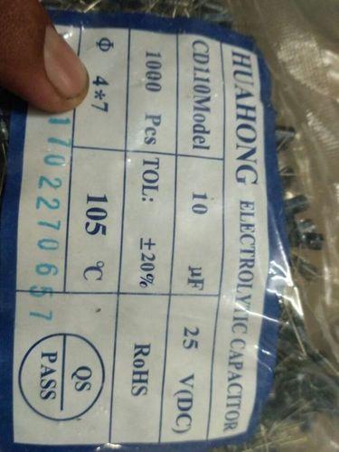Capacitor 220u/10v Size 5/7mm