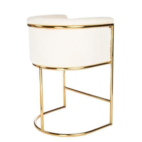 Fully Handmade Brass Bar Seating Chairs