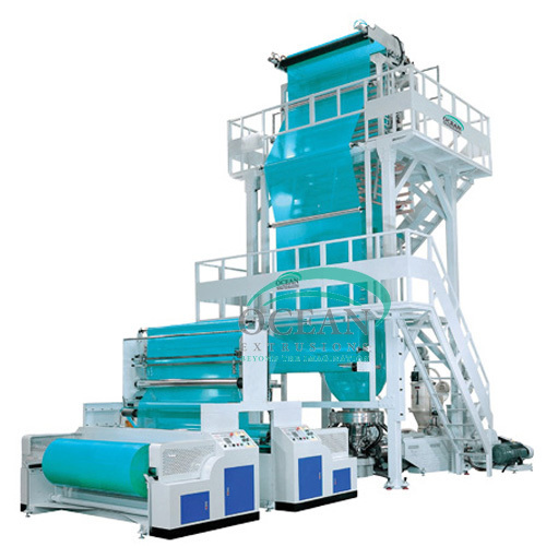 Heavy Duty Multilayer Blown Film Extrusion Line