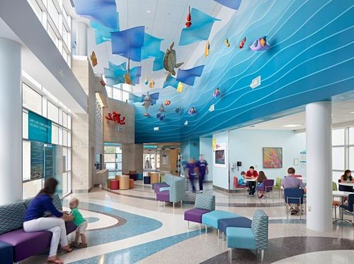 Hospital Interior Design Services