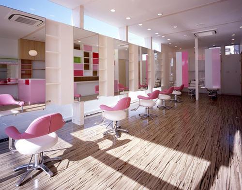 Saloon Interior Designing Services