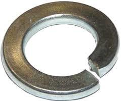 Spring Lock Washer With Square Ends