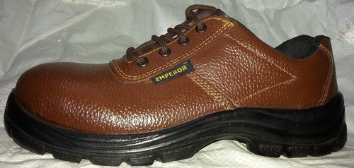 Tiger Brown Safety Shoes