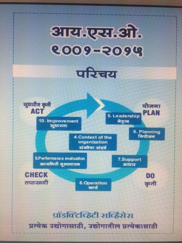 ISO 9001-2015 Marathi Book - Productivity Services, kalakruti