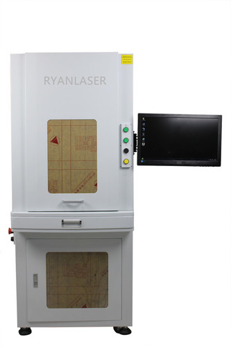 Fiber Laser Marking Machines With Full Safety Cover