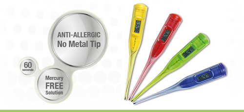 Shiny Digital Thermometer - Pen Type