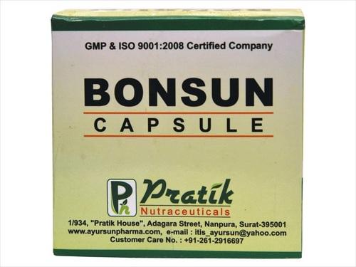Ayurvedic Capsule For Bone Healing Formula Bonsun Cap