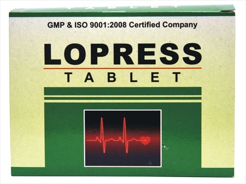 Ayurvedic Lopress Tablet For Low Blood Pressure