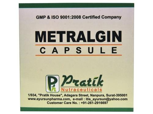 Ayurvedic Metralgin Capsules