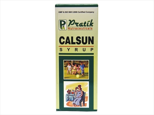 Herbal Calsun Syrup For Natural Iron Calcium