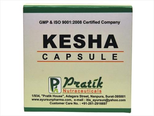 Herbal Kesha Hair Capsules