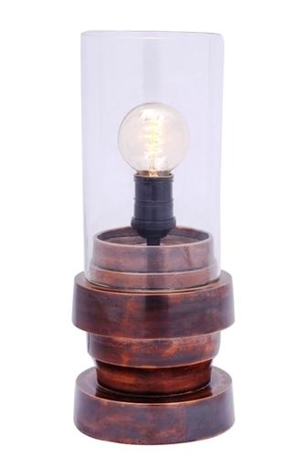 Copper Filament Bulb Table Lamp