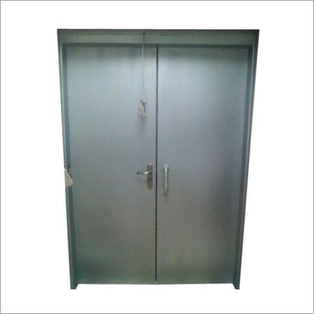 Durable Metal Fire Retardant Doors