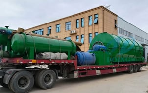 Rubber Tire Recycling Process Machine