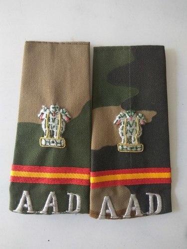 Shoulder Ranks Badges