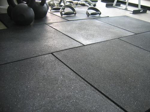 Robust Rubber Tiles