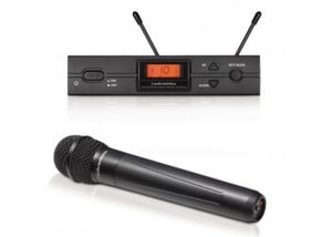Audio Technica Atw-2120a Wireless Handheld Microphone System