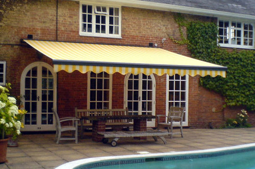 Retractable Pool Side Awnings