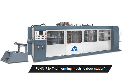 Four Station Thermoforming Machines