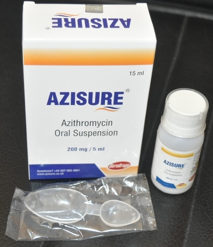 Azithromycin 200mg/5ml Powder For Oral Suspension