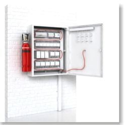 Electrical Panel Fire Suppression System