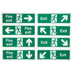 Finely Finished Emergency Escape Signs