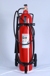 Is 16018 Trolley Mounted Carbon Dioxide Fire Extinguisher