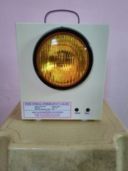 Single Beam Industrial Emergency Light - Halogen Model