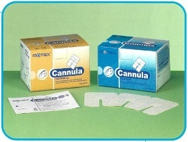 Cannula Fixation Dressing Pad