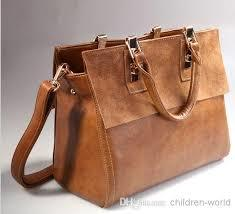 Fancy Ladies Leather Bags
