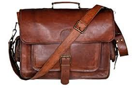 Leather Laptop Hand Bag