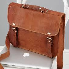 Leather Laptop Hand Bags