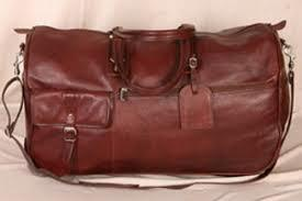 Leather Travel Hand Bags