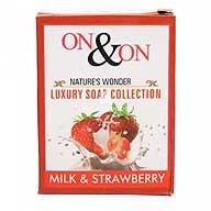 Milk and Strawberry Luxury Soap