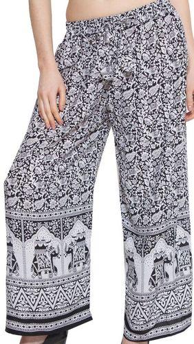 Rayon Printed Pants
