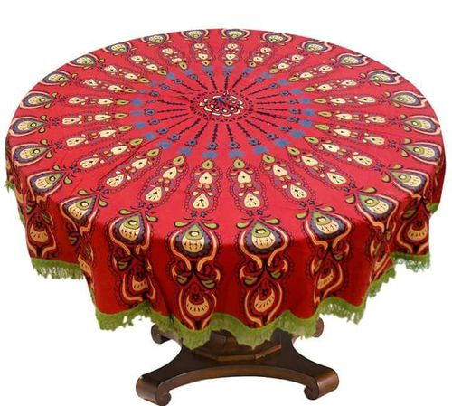 Mandala Roundies Tapestry