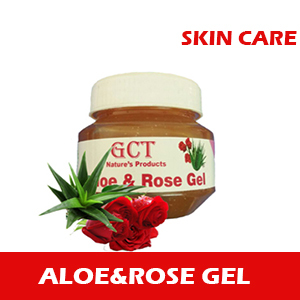 Aloe Vera And Rose Gel