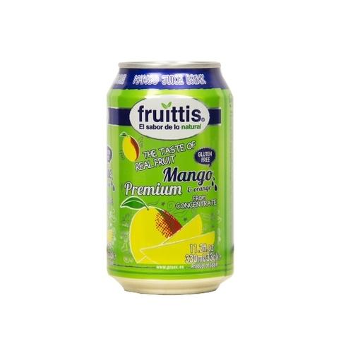 Canned Mango Fruit Juice Drink (Fruittis)