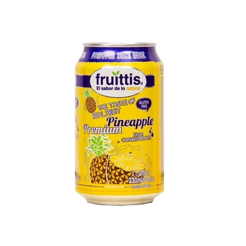 Canned Pineapple Fruit Juice Drink (Fruittis)