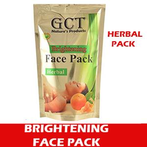 Herbal Brightening Face Pack