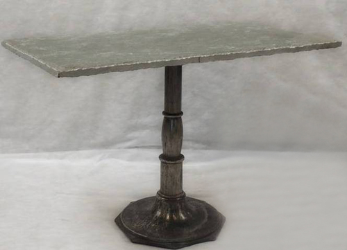 Iron Marble Side Tables