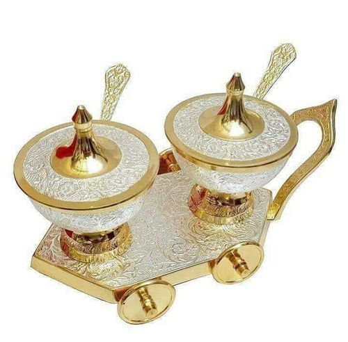 Brass Gift Supari Set